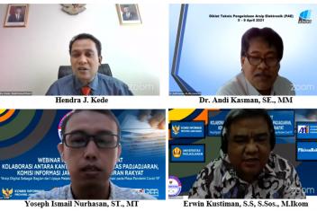 Webinar Nasional Bersertifikat: Kolaborasi Kantor Arsip Universitas Padjajaran dengan Komisi Informasi Jawa Barat