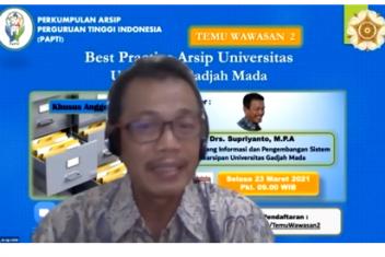 Kantor Arsip Mengikuti Temu Wawasan #2 PAPTI (Perkumpulan Arsip Perguruan Tinggi Indonesia) Arsip Universitas Gajah Mada
